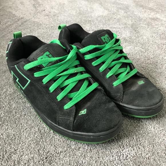 DC Shoes   Dc Skate Shoes Black Green
